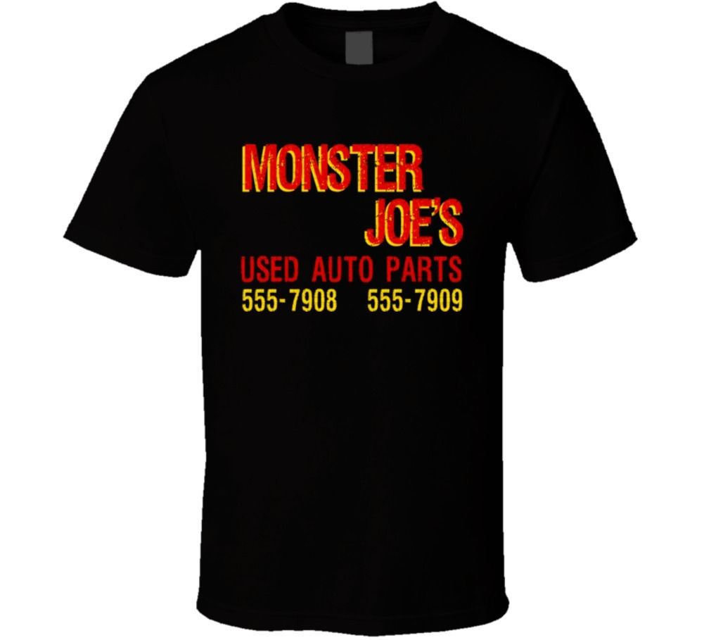 Monster Joes Used Auto Parts Pulp Fiction Movie T Shirt T shirt Cool Casual pride t shirt men Unisex Fashion tshirt