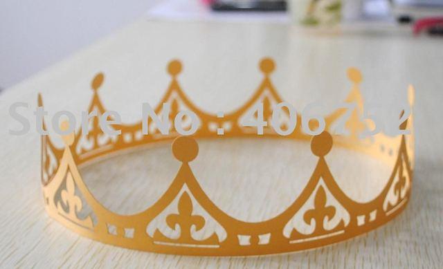 "birthday party decoration"" paper crown MOQ 100 pcs"