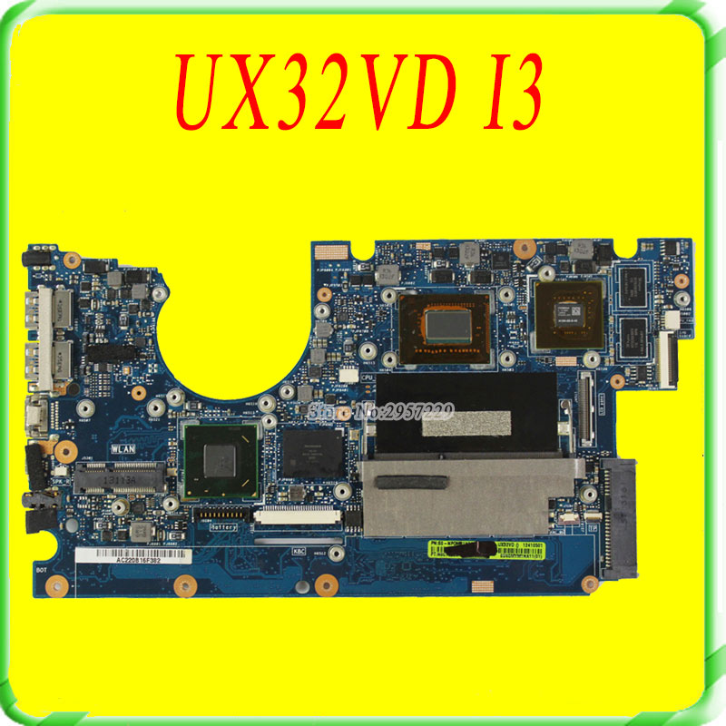 For Asus UX32V UX32VD Laptop Motherboard UX32VD Mainboard With i3 Processor GT620M 100% Tested OK
