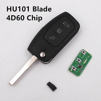 For Ford Remote Key 433MHz For C Max S Max Focus Mondeo Fiesta KUGA Galaxy