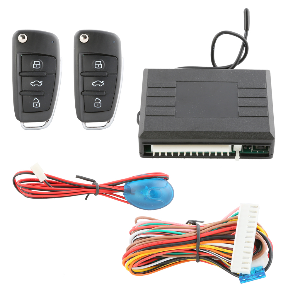 Universal Central Lock Car Alarm System Keyless Entry Remote System