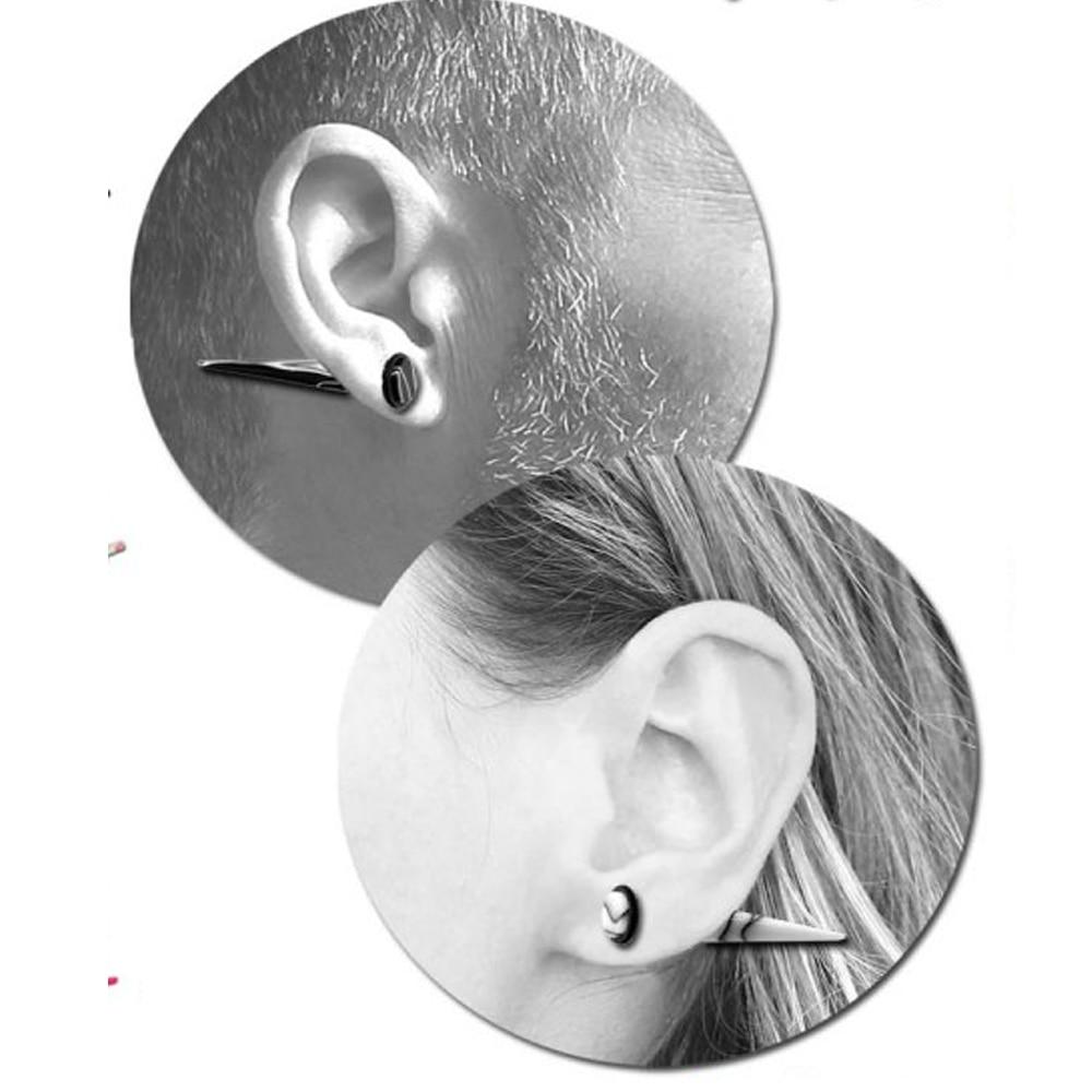 10-20mm Marble Multi-colour Acrylic Ear plug Stretcher Tunnel Expander Earring