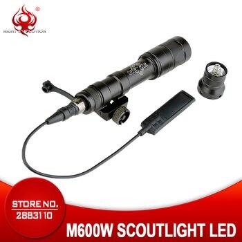 Night Evolution Tactical Flashlight M600W  Scoutlight LED Full VERSION Light Weapon Gun Light NE04045