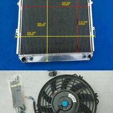 3 ряда Алюминий радиатора и вентилятор для Toyota Пикап 4runner SR5 Спорт DLX 4WD 3.0L V6 1988-1995 88 89 90 91 92 93 94 95