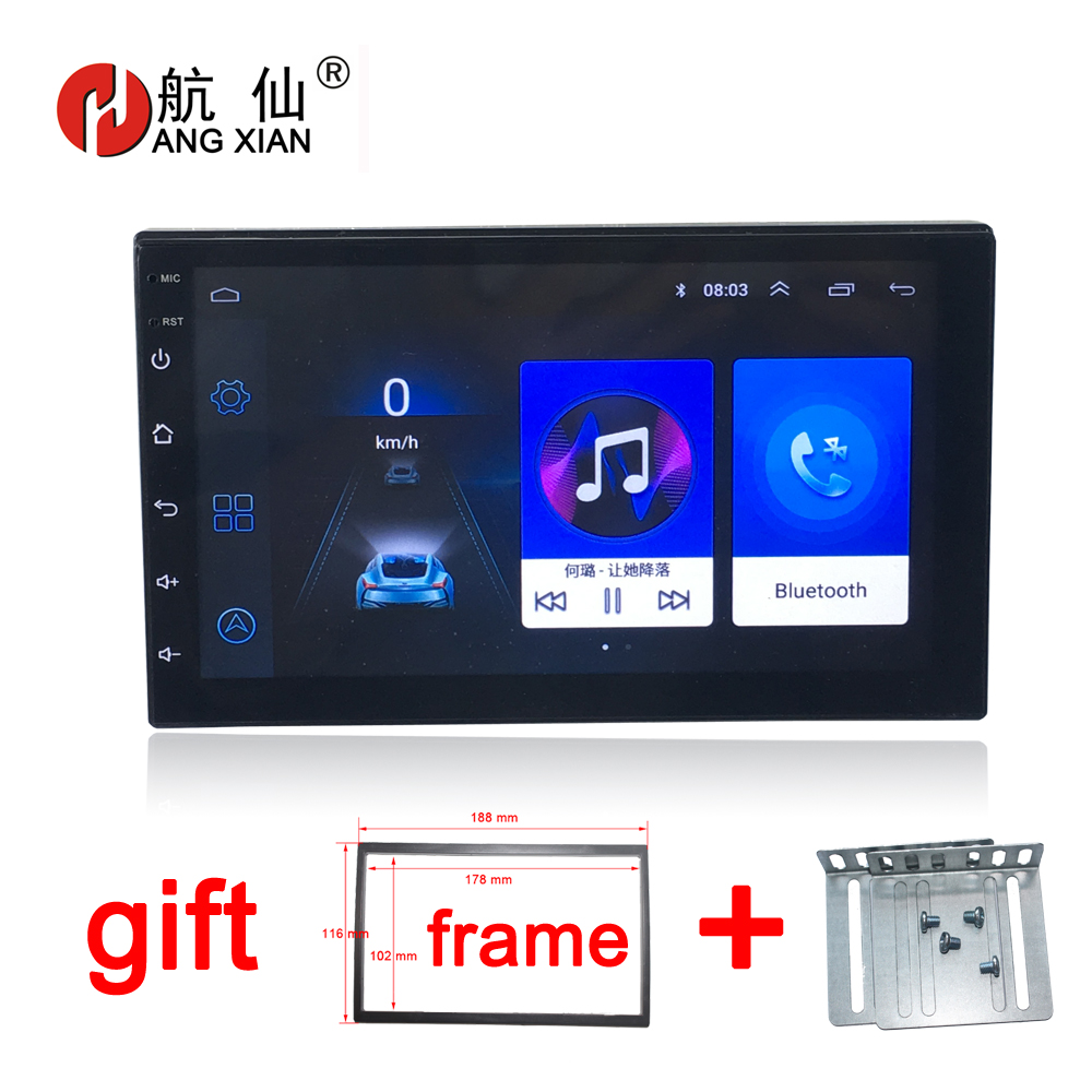 Android 8.1 autoradio universel lecteur DVD de voiture Navigation GPS pour Nissan Tiida QASHQAI x-trail Hyundai VW toyota KIA BYD Mazda