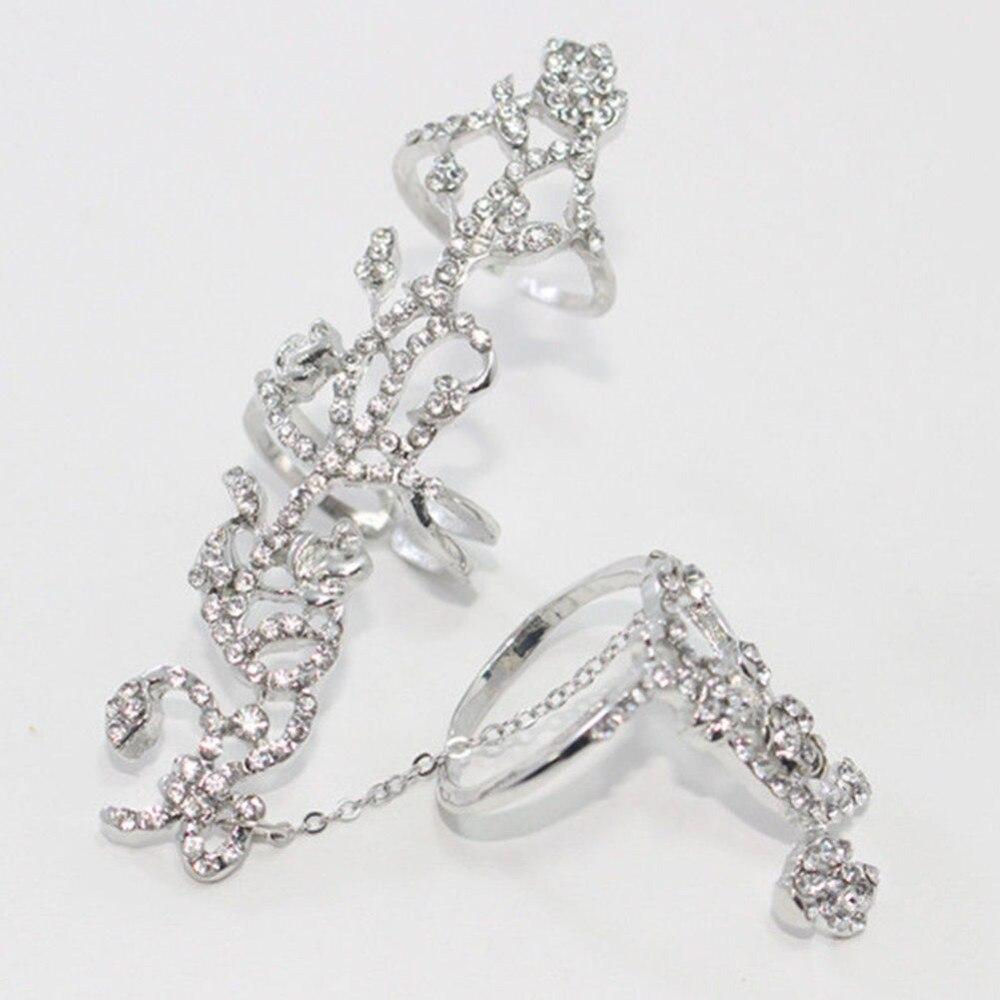 Կանանց կրկնակի մատների մատը ՝ Thumb Ring - Նորաձև զարդեր - Լուսանկար 6