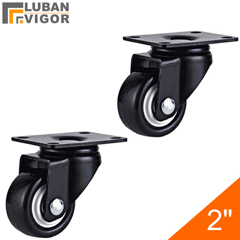High load-bearing,2 inch PU Casters/wheels,Mute Wheel/Wearable,FOR Sofa, furniture, trolleys,HOME/Industrial Hardware