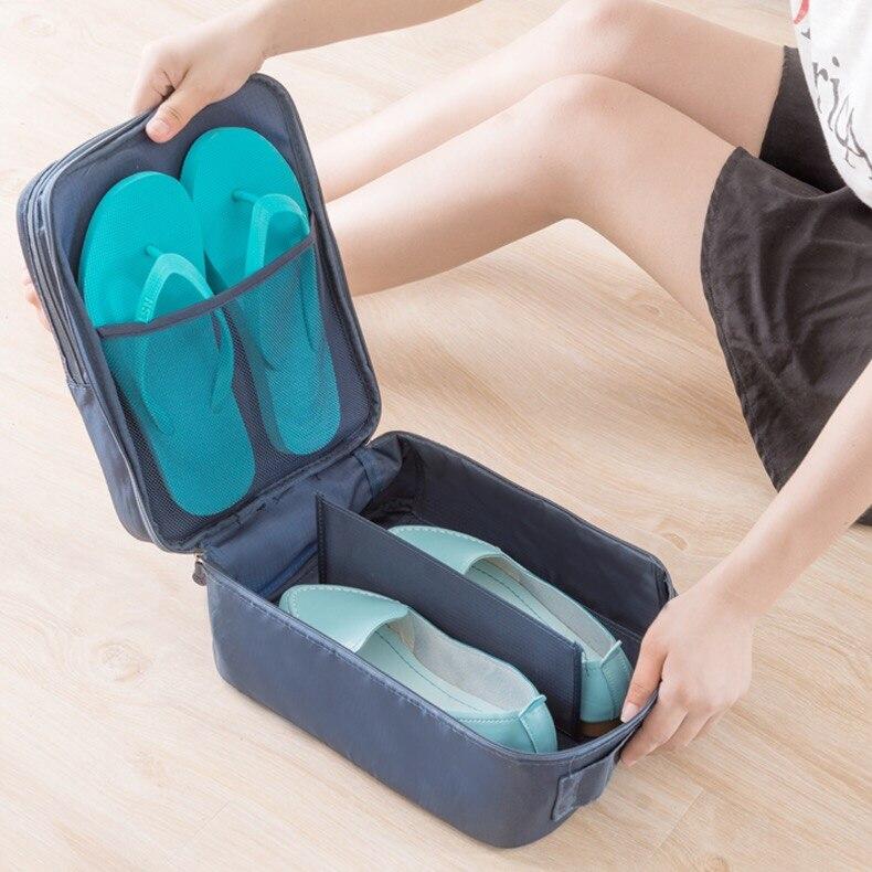 Underwear Socks Storage-Bag Shoes Organizer Portable-Handle Waterproof Travel