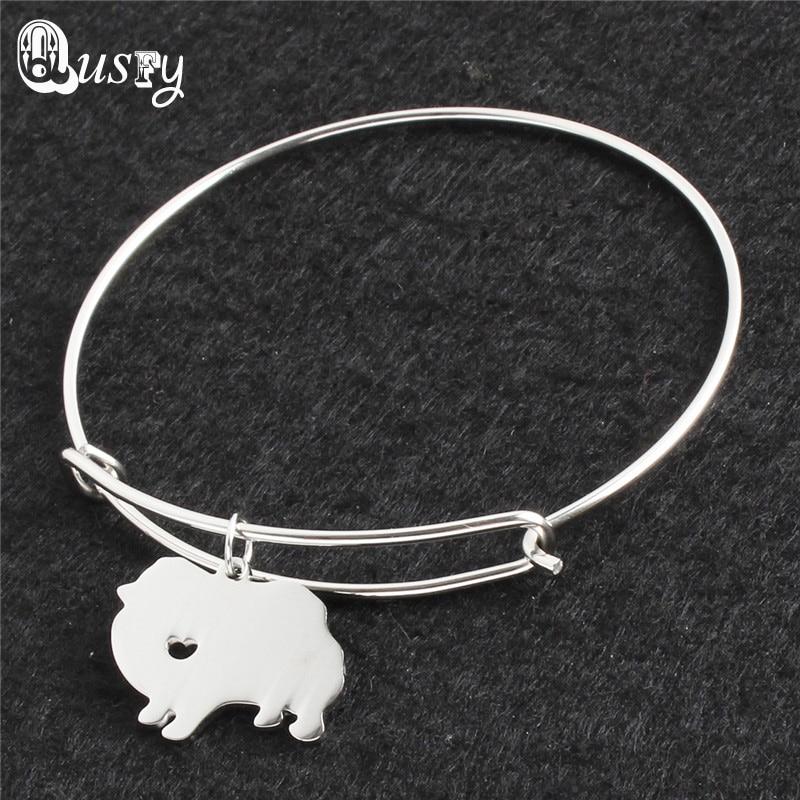 Pomeranian,Greyhound,Bernese Mountain .Doberman Pinscher,Schnauzer,Pud dog pet Silver Plated bracelet bangle women