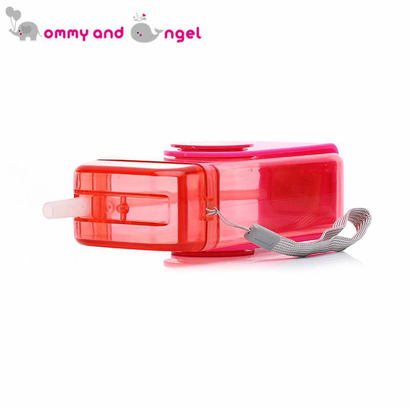 MOMMY AND ANGEL Calssic Boy&Girl Closer to Nature Fiesta Bottle Sippy Cup for Kid Straw Feeding Bottle (4 Colour,500ml,XBE/8600)