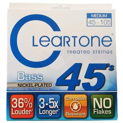 Cleartone 6445 EMP лечение Средний электрический бас 4-строки набор, 045-105