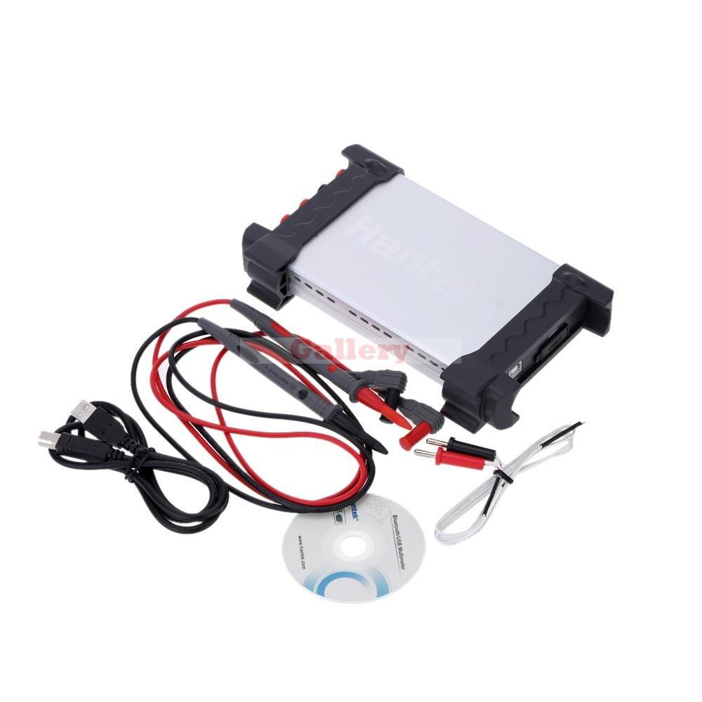 Hantek 365a Напряжение Ток Сопротивление Температура измерения ПК USB цифровой регистратор данных Регистраторы мультиметр данных GPS Logger