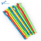 Toppory 10 PCS/Lot Colorful Plastic Fishing Hook Remover Fish Hook Disgorger Fishing Unhooked Extractor