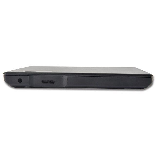 USB3.0 dvd rw 9.5mm Driver Gravador de DVD Externo Para laptop PC suporte DVD escrever e ler ECD918US3