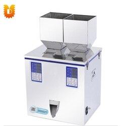 2-50g granulki proszku podwójna głowica maszyny do napełniania maszyny do napełniania podwójne ważenia wypełniacz