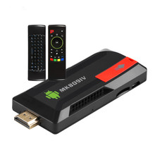 MK809 IV Android 5.1 TV Dongle RK3229 Quad Core 2GB/8GB 2G/16G 2.4G Wifi DLNA with KODI XBMC 4K media player TV stick+Keyboard