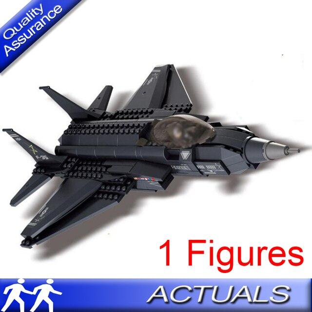 Sluban 0510 252 Pcs Compatible With Lego Technic F 35 Fighter Plane