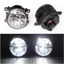 Фотография Car Styling 6000K White 10W CCC High Power LED Fog Lamps DRL Lights For FORD AUSTRALIA FALCON GRAND C-MAX FIESTA Van 1994-2013