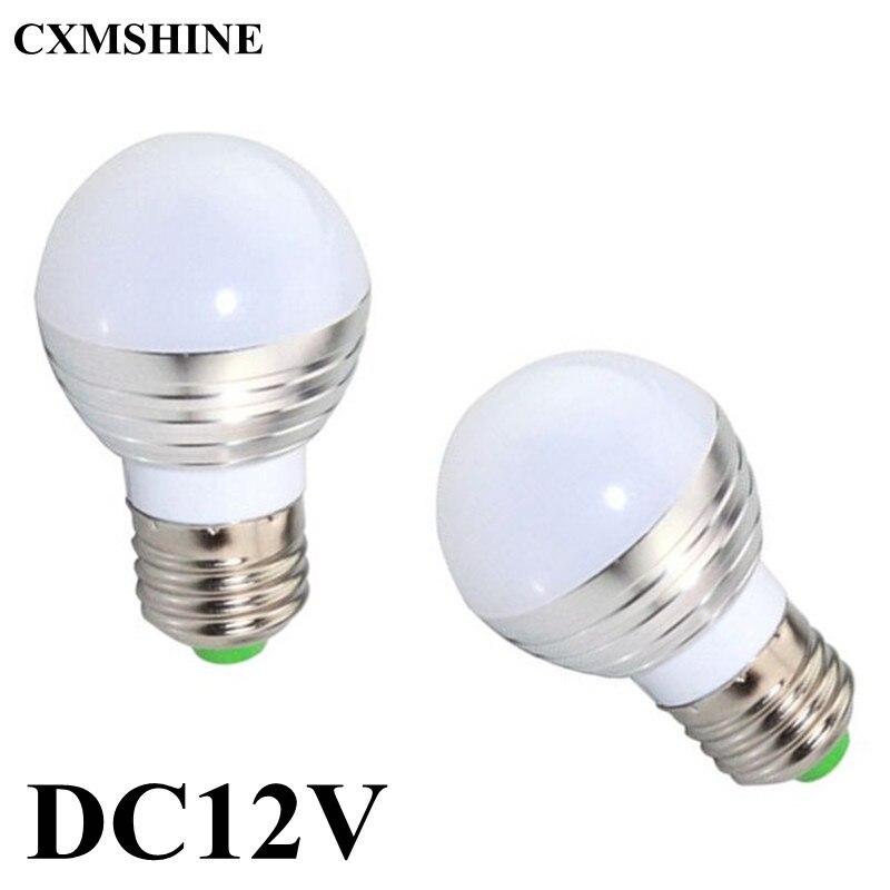 10pcs lot e27 e14 b22 dc12v 6w led bulb warm white cool. Black Bedroom Furniture Sets. Home Design Ideas