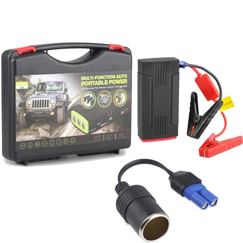Voiture batterie externe saut démarreur batterie 12 V Mini Portable multifonctionnel démarrage démarrage 68000 mAh haute capacité Auto batterie Booster