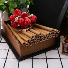 Set of Reusable Bamboo Straws