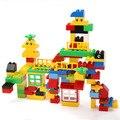 Большие Строительные Блоки Самоконтрящиеся Кирпичи Детские Первого Блока Образовательные Детские Игрушки Brinquedos