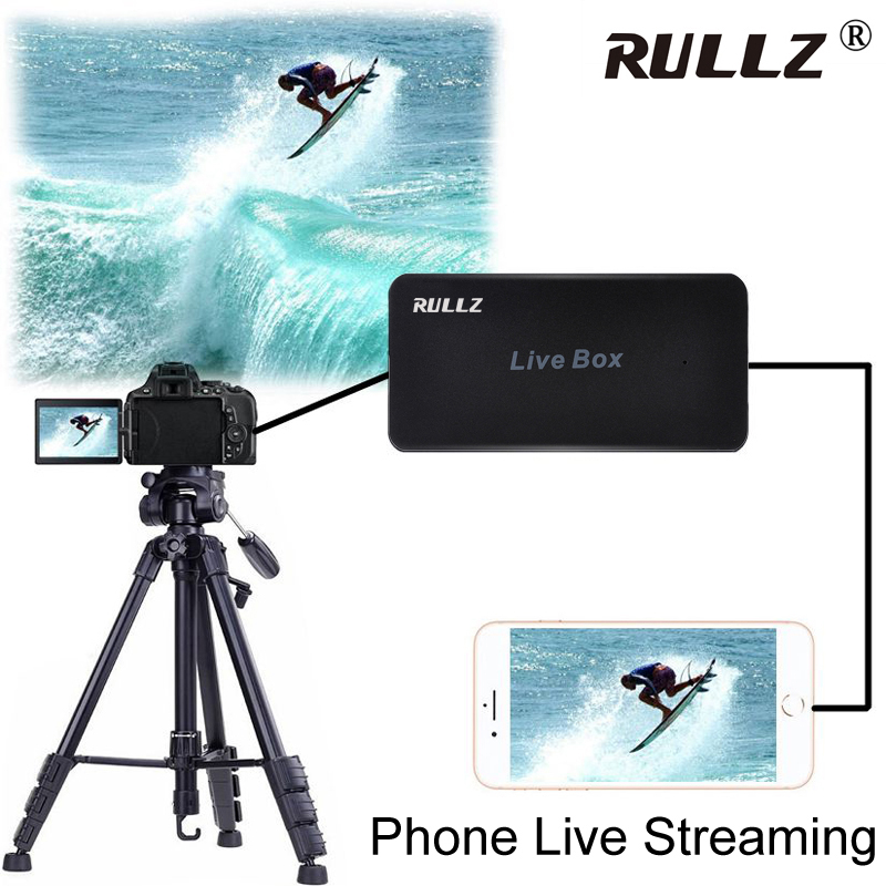 Super Mini HDMI 1080P HD Camera Outdoor Live Streaming Device PS4 Game Video Capture Card For IPhone IOS Android Phone Live Box