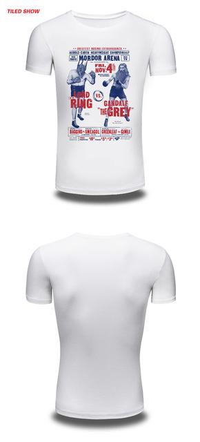 Mordor Arena Boxing Casual T-Shirt