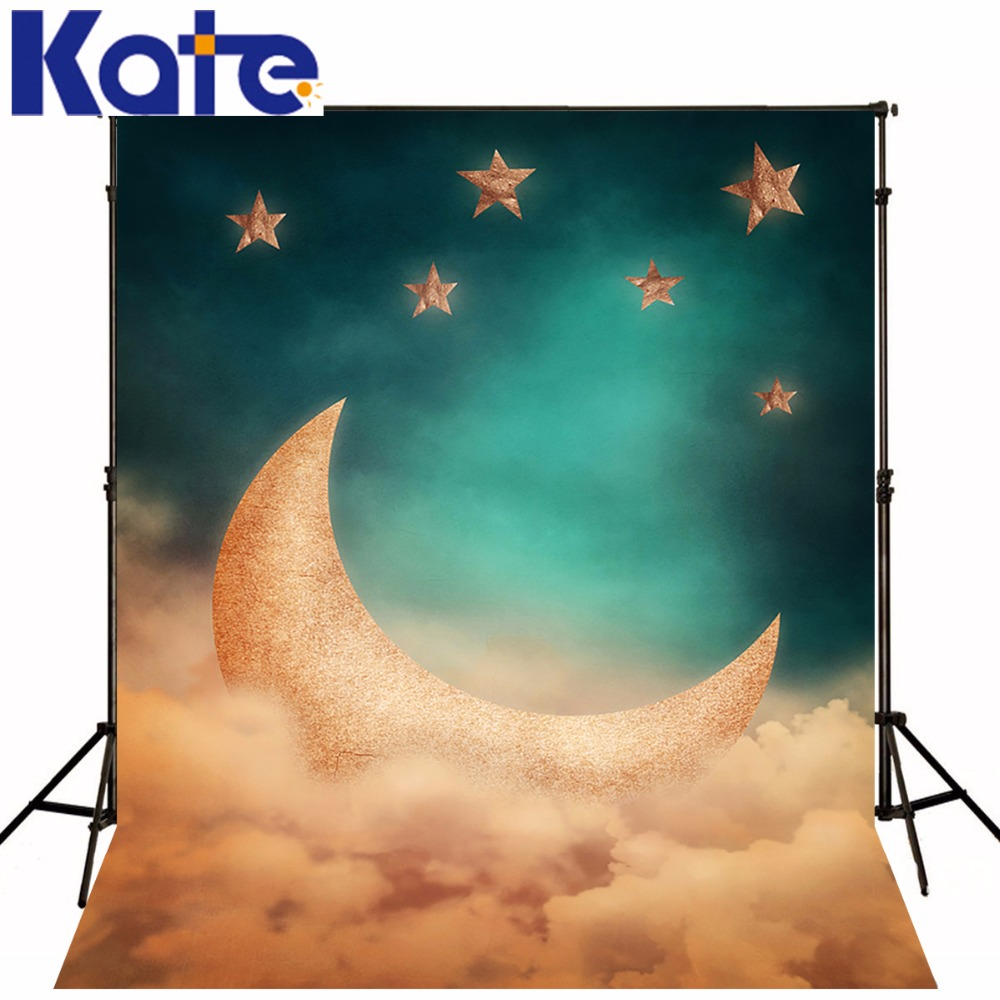 KATE Photography Backdrops 10x10ft Children Photo Background Backdrop Photo Studio Moon Fairy Backdrop Cartoon Forest Background