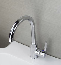Обновление хромированной латуни, ванная комната, умывальник смеситель кран JN8481 (2)