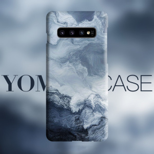 Image 3 - Abstract wave Sea Art flows case For Samsung Galaxy S20 Plus S10 Plus S10e Note 10 Plus Note 9 cover case Skin texture