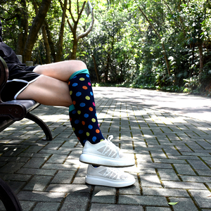 Image 5 - Compression Socks (3Pairs), 20 30 mmhg is BEST Graduated Athletic & Medical for Men & Women, Running, Flight, Travels Stocking