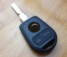 3 Кнопки Uncut Клинок Дистанционного Ключа Автомобиля Shell для BMW E31 E32 E34 E36 E38 E39 E46 Z3 Fob Случае Ключ Uncut Клинок + Пластик мат