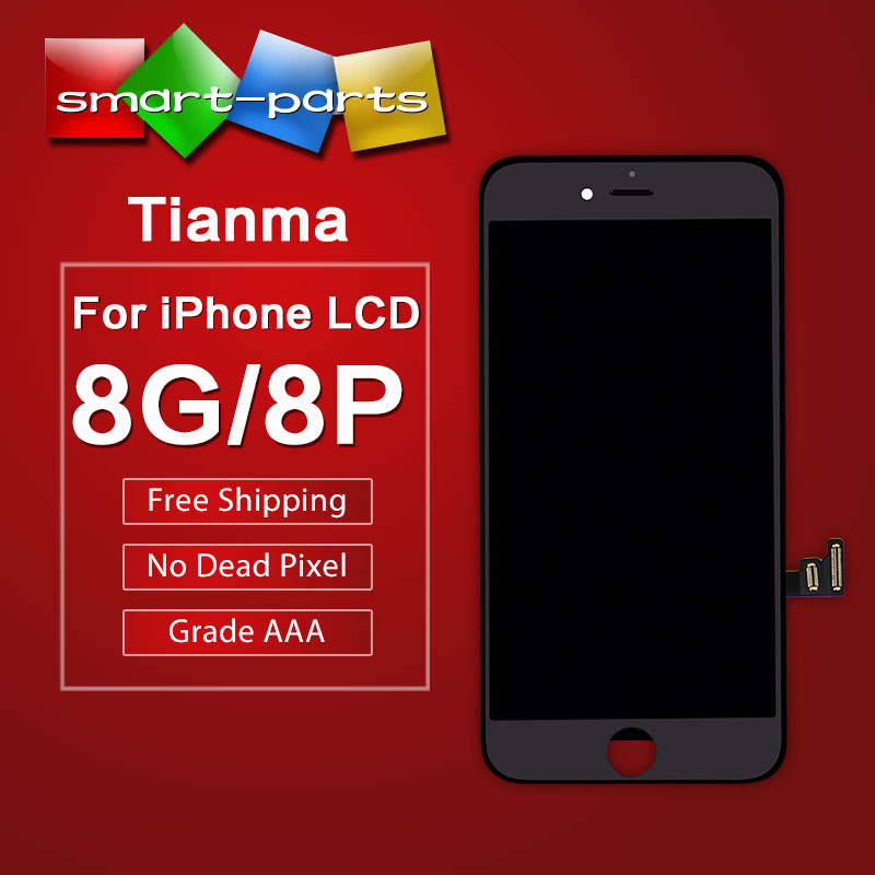 Premium Tianma LCD For iPhone 8 8 Plus LCD Display Touch Screen Digitizer Assembly Replacement Good 3D touch Free DHL(China)