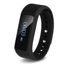 Модные Фитнес-трекер Smart часы для iPhone 6/5S Android Samsung Galaxy S6 S5 S4 смарт-браслет шагомер 0.91 «oled