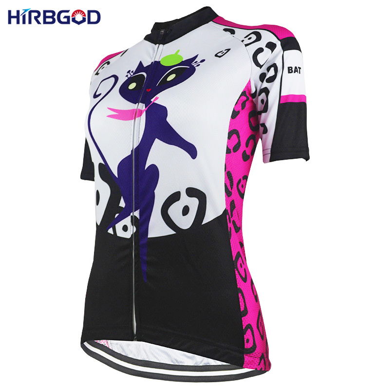 Teddies & Bodysuits nr189 Bringing More Convenience To The People In Their Daily Life Beautiful Hirbgod Womens Short Sleeve Bike Wear Lady Cartoon Cat Lightweight Mtb Outdoor Sport Cycling Jersey Bike Clothing Shirt Men's Exotic Apparel