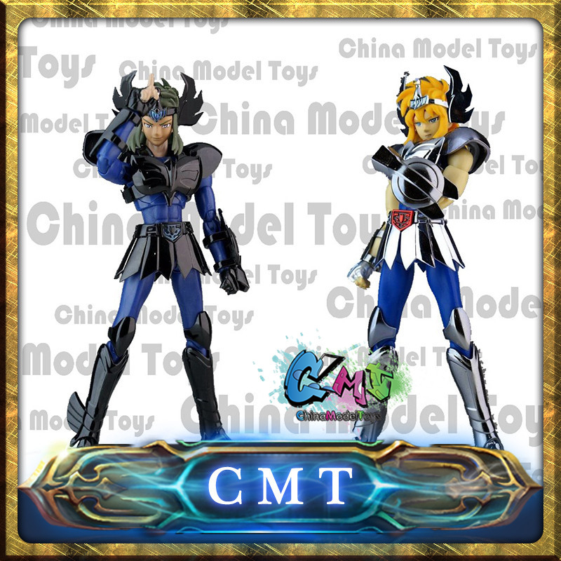 цена на CMT IN STOCK Aurora Model CS Model Hyoga Cygnus cinsne Saint Seiya V1 Myth Cloth EX action figure