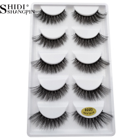 250 pairs 100% Real Fake Mink Eyelashes 3D Natural False Eyelashes 3d Mink Lashes Soft Eyelash Extension Makeup Kit Cilios G806