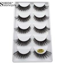 250 pairs 100% Real Fake Mink Eyelashes 3D Natural False Eyelashes 3d Mink Lashes Soft Eyelash Extension Makeup Kit Cilios G806