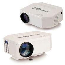UC30 Led-miniprojektor Heimkino Multimedia Player 150 Lumen HDMI USB VGA Tragbare helligkeit LED Mini Projektor Hause