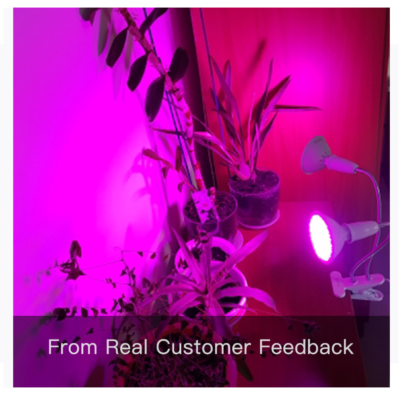 Image 5 - Goodland Phyto Lamp Full Spectrum LED Grow Light E27 Plant Lamp Fitolamp For Indoor Seedlings Flower Fitolampy Grow Tent Box-in LED Grow Lights from Lights & Lighting
