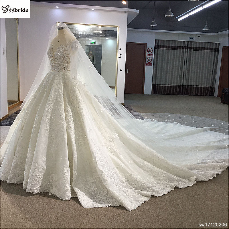 sw17120206-4 surmount custom made royal train wedding dresses 2018 ball gown long sleeves robe de soiree long robe de mariage wedding dresses Surmount Custom Made Royal Train Wedding Dresses 2018 Ball Gown Long Sleeves robe de soiree Long robe de mariage Wedding dresses HTB1r3WtgnnI8KJjy0Ffq6AdoVXap