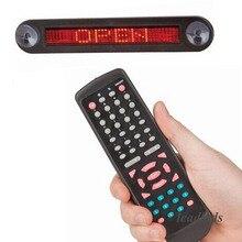 12v Red LED Car Display board Remote LED car sign LED Programmable Message Sign