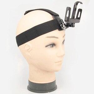 Image 4 - Universal soporte de clip para teléfono con pecho Gopro cinturón/correa para la cabeza de iPhone Samsung Huawei xiaomi smartphone para escalada ciclismo