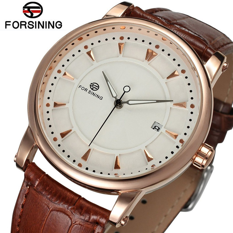Fashion Forsining Relogio Masculino Man Watches Men Day Auto Mechanical Watch Wristwatch  Gift Free Ship factory direct sale mini industry microscope stand lcd digital microscope camera arm holder size 40mm