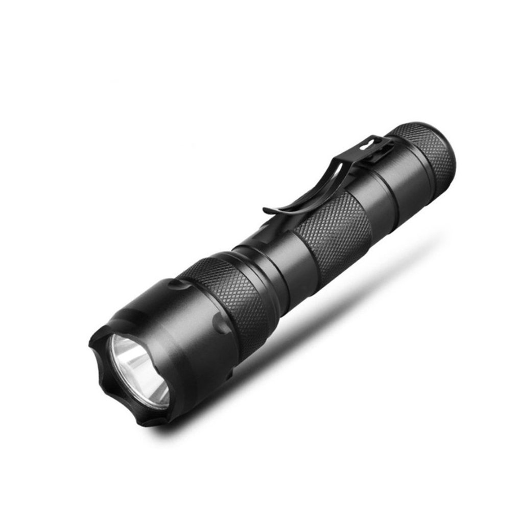 Aluminum Alloy LED Flashlight Rechargeable Zoomable Linternas Torch Light Courtyard Outdoor Lighting Plane Lens