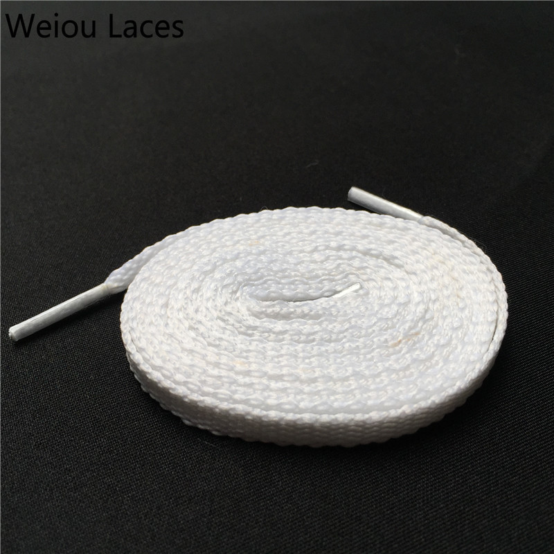 Fine Weiou Cbrl 7mm Flat Tubular Laces Awesome Lacet Novelty Customized Colored Shoelaces Ribbon Hollow Shoestring Sports Bootlaces Wide Selection; Shoes