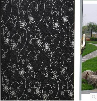 Finestra Di Vetro Della Stagnola Bagno Opaco Nero Opaco Self-adhesive Glass Sticker Isolamento Protezione Solare Finestra Del Bagno Paper-19