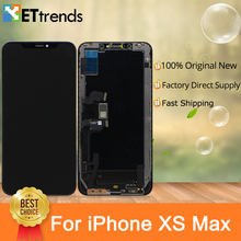 1 PCS 100% Best Original New OLED Screen Display For iPhone Xs Max Screen Digitizer Assembly Perfect Color with DHL Free Ship