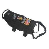 Шикарный Тактический Военная Униформа собаки жилет использовать Молл Применение собак Обучение жилет верхняя одежда плюс Размеры дешевые ...